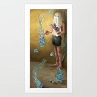 Obsessively  Art Print