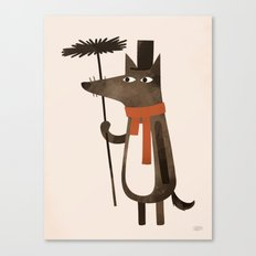 Chimley the Sweep Canvas Print
