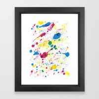 BALLONS Framed Art Print