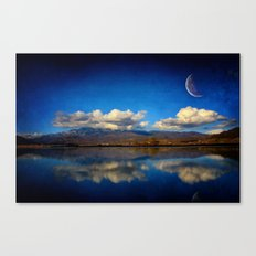 Epic Autumn Blues  Canvas Print