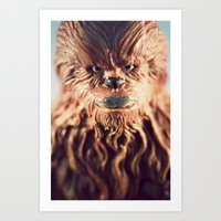 Not Wise To Upset A Wook… Art Print