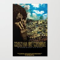 Manos De Madre Official Movie Poster Canvas Print
