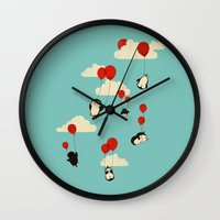 We Can Fly! Wall Clock