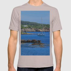 Summer Days Mens Fitted Tee Cinder SMALL