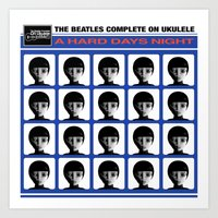 A Hard Days Night Art Print