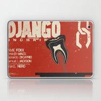 Django Unchained - Alternative movie poster Laptop & iPad Skin