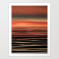The Colors of the Sea 1 Art Print