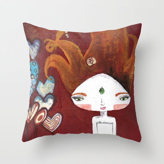 Friends-4-ever Bhoomie Throw Pillow