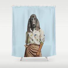 Madame Boulevard Shower Curtain