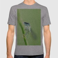 Somebody's watching me Mens Fitted Tee Athletic Grey SMALL