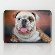 Hanging Out - Bulldog iPad Case