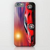 Red Ferrari iPhone 6 Slim Case