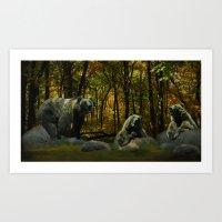 Forest Songs Art Print