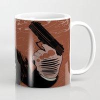 Monkey Skull Suit Mug