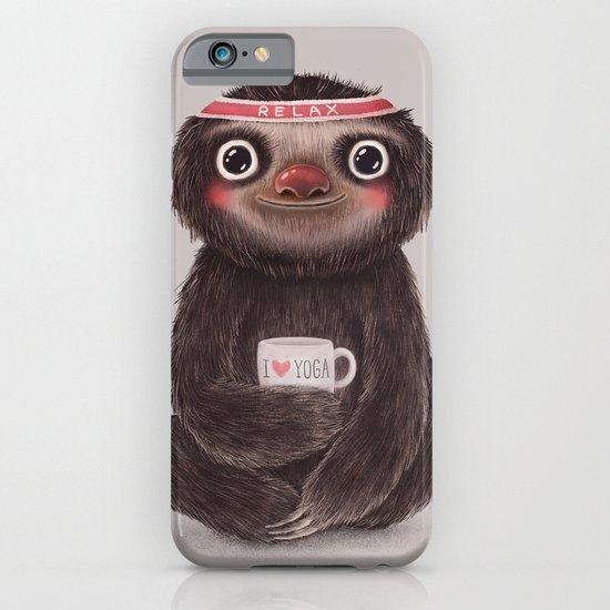 Sloth I♥yoga iPhone & iPod Case