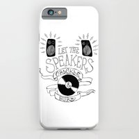 iPhone & iPod Case featuring Let the Speakers... by Daniel Viberg