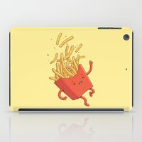 French Fries Fall iPad Case