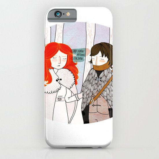 You Know Nothing iPhone & iPod Case