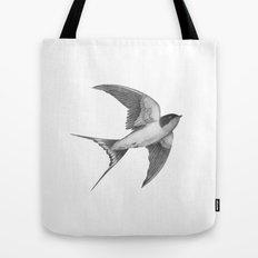 Barn Swallow - mono Tote Bag