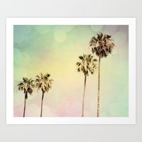 Palm Trees 2 Art Print