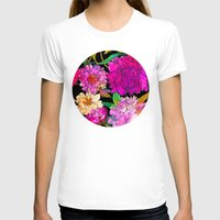 Petal Power Womens Fitted Tee White SMALL