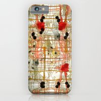 monster iPhone & iPod Cases featuring Monster by Tammy Kushnir