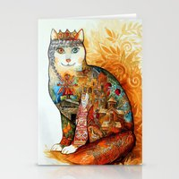Armenia Cat - Watercolor Stationery Cards