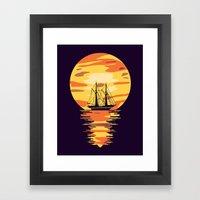 Light My Way Framed Art Print
