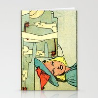 witch pipe Stationery Cards