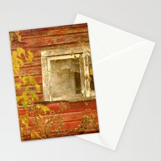 Window to the Past Stationery Cards