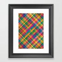 The Alphabet #1 Framed Art Print