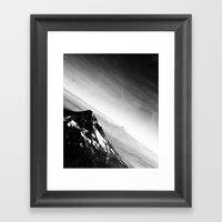 Oregon Mountains Framed Art Print