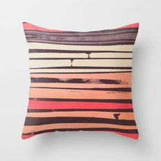 Peach 'N Creme Throw Pillow