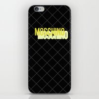 MOSCHINO Quilted Bag iPhone & iPod Skin
