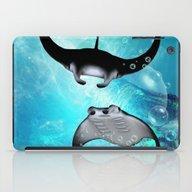 Manta Rays iPad Case