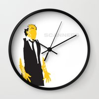 Scanners Wall Clock