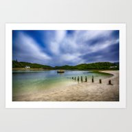 Art Print featuring Low Tide At Morar by Chris Thaxter
