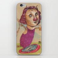 KITTY'S WATER WINGS iPhone & iPod Skin