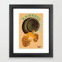 Alphonse Mollusk Framed Art Print