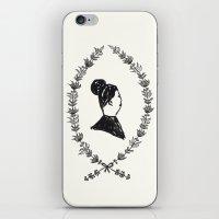 Lady Lapel iPhone & iPod Skin
