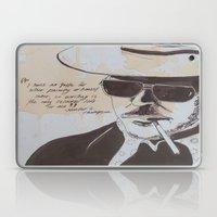 Hunter S. Thompson Laptop & iPad Skin