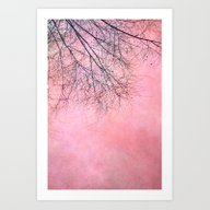 Power Of Pink Art Print