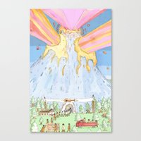 The Mountian. Canvas Print