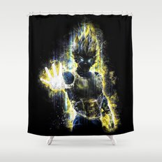 The Prince of all fighters Shower Curtain