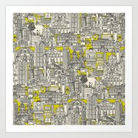 Hong Kong Toile De Jouy … Art Print