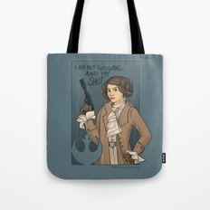 She's Young, Scrappy, An… Tote Bag