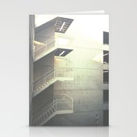 Industrial Stairs 02 Stationery Cards