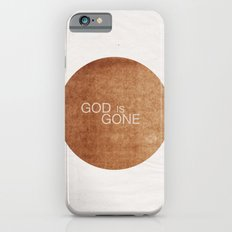 God is gone iPhone 6s Slim Case