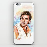 Poe Dameron iPhone & iPod Skin