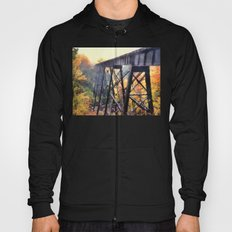 Upper Peninsula Train Trestle Hoody